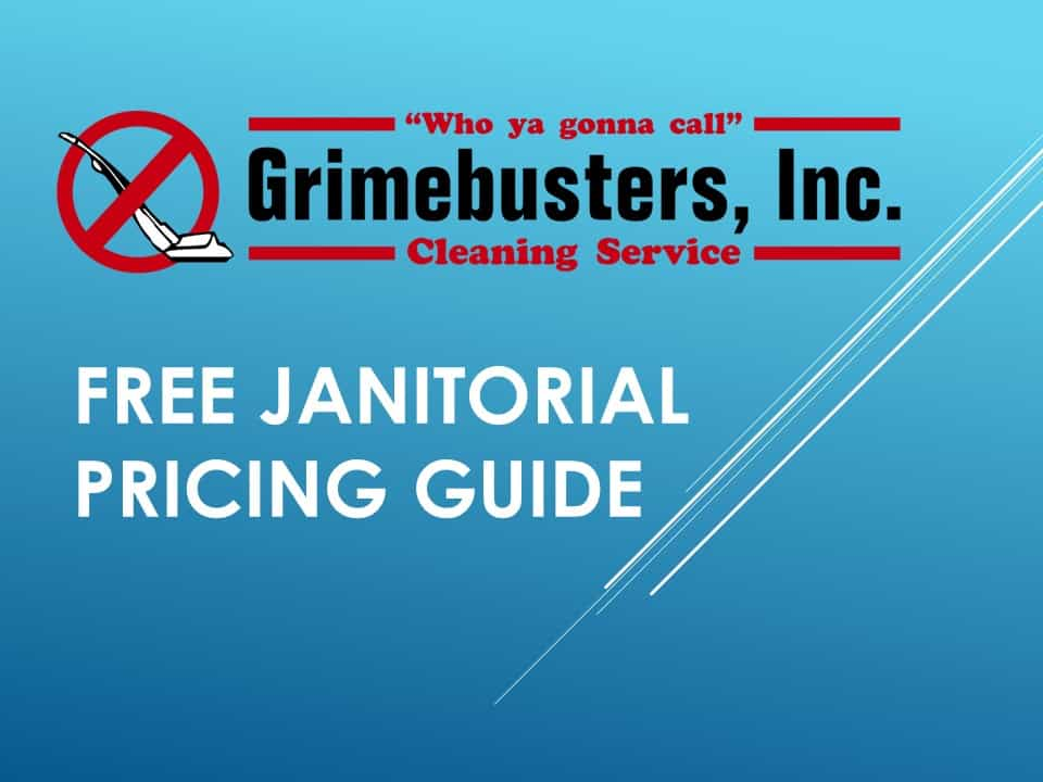 Free janitorial pricing guide cover 1